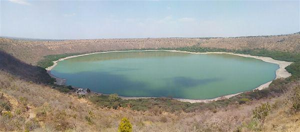 Lonar lake near aurangabad